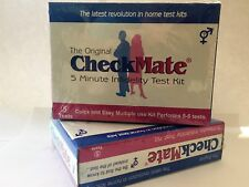 "NEW CheckMate Semen and Sperm Detection ""Catch a Cheating Partner"" Test Kit"