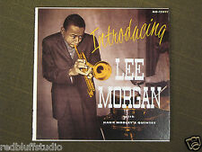 Introducing Lee Morgan with Hank Mobley's Quintet 1956 Nippon Co. LP Japan