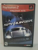 SpyHunter Greatest Hits (Sony PlayStation 2, 2002) Complete