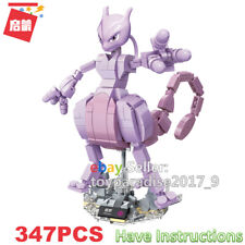 Enlighten Building Blocks Pokemon Series Mewtwo Mewtu Fit Logo Mega Construx Toy