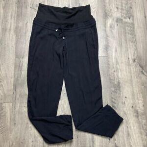 H&M Maternity Black Pants Women's Size Small Pockets