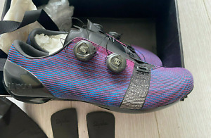 Rapha Pro Team Woven Race Shoe Purple Pink Black Boa Carbon UK10.5 US11.5 - NEW