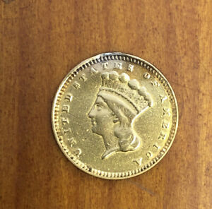 1874 Type 3 One Dollar Gold coin Jewelry