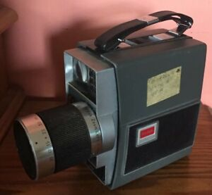 Vintage Kodak Electric 8 Zoom Video Camera Great For Decor! Untested No Battery