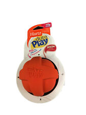 Hartz Dura Play Dog Ball Toy Orange Bacon Scented Large