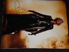 X MEN HALLE BERRY SIGNED LEATHER OUTFIT 11X14