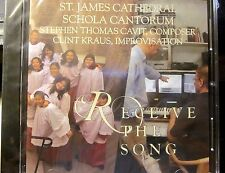 Seattle St. James Cathedral SCHOLA CANTORUM Audio Cd - Receive The Song (New)
