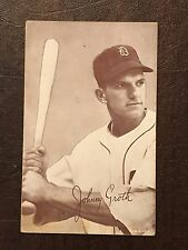 JOHNNY GROTH 1947-66 EXHIBITS - DETROIT TIGERS
