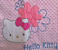 ~ Hello Kitty - HUGE BLANKET GENUINE LISENCED POLAR FLEECE THROW BED 152 x 127