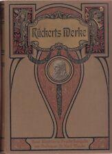 Friedrich Rückerts gesammelte Werke - Neue illustrierte Pracht-Ausgabe (um 1900)