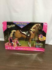 1998 Barbie Riding Club Walking Beauty Horse Nib 17718 Love it! Superb !