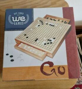 Go board game wooden