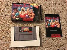SUPER PUNCH-OUT - Super Nintendo SNES - COMPLETE IN BOX