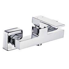 Duscharmatur eckig Mischbatterie Dusche Einhebelmischer Brausegarnitur