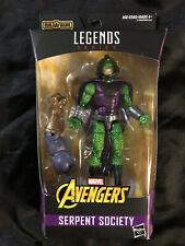 "NEW Hasbro Marvel Legends Avengers INFINITY GAUNTLET 6"" Serpent Society Thanos"