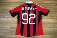 SIZE L AC MILAN 2012/2013 HOME FOOTBALL SHIRT SOCCER JERSEY #92 EL SHAARAWY RARE