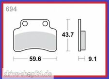Bremsklötze Bremsbeläge für JINLUN FLEX-TECH Topspeed Fun BENZHOU YiYiNG 25 - 50
