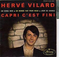 HERVE VILARD CAPRI C'EST FINI FRENCH ORIG EP JACQUES DENJEAN