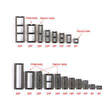 Ic Socket Dil Dip 254mm 6p8p1416p18p20p24p28p40p Pin Pcb Ic Socket