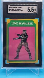 1980 - Topps Star Wars - The Empire Strikes Back - Luke Skywalker - #268