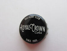 Rare Black Royal Crown Cola Soda Bottle Cap