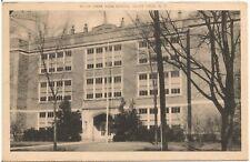 High School in Silver Creek NY Postcard 1944