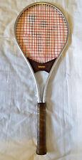 Vintage Master Mcenroe superbrat alum tennis racquet made in Australia Retro