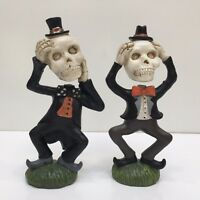 """Ashland SKELETON'S LOOSE THEIR HEADS 2 Styles Halloween Buy 1 or More 7.5"""" Tall"""