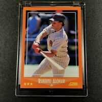 ROBERTO ALOMAR 1998 SCORE TRADED #105T ROOKIE CARD RC MLB HALL OF FAMER