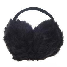 Lady Pure Plush Comfy Warmer Headband Back Ear Muffs Earmuffs Black WS Q5I5