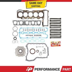 Full Gasket Set Head Bolts for 05-09 Volkswagen Beetle Jetta 2.5 BGP BGQ BPR BPS