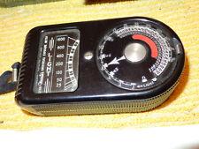 Weston Emulsion Speeds Exposure Meter Model 715