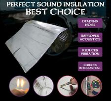 Car Sound Proofing Deadener Mat Self Adhesive Material Absorption Noise 160