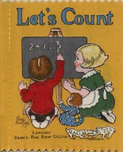 Let's Count (A Pretty Counting Book): Dean's Rag Book No. B275/Children's