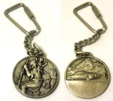Portachiavi Medaglietta Auto / Retro: S.Cristoforo