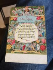 The Lord's Prayer Postcard