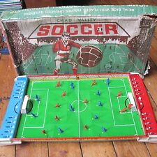 Chad Valley Soccer Vintage 1960s Metal Tinplate Tabletop Football Game w Box