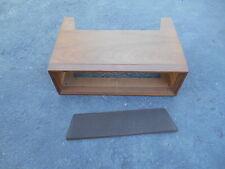 Stereo receiver wood cabinet Mcintosh Fisher Scott Harman Kardon Pilot Marantz