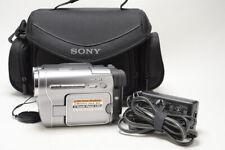 Sony Dcr-Trv480 Hi 8/8mm Camcorder-tested & Pristine.w/battery, Ac & Case