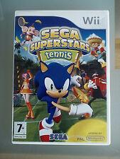 Sega Superstars Tennis (Nintendo Wii, 2008) Sonic, Monkey Ball, Samba di Amigo