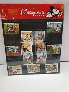 Vintage Disneyland Paris Stamp Collection