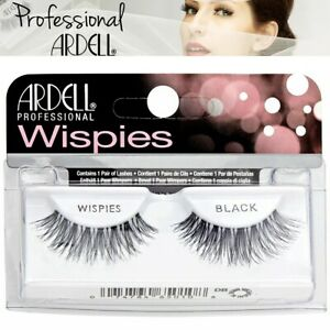 Ardell Cosmetics Wispies Lashes Black Natural Invisiband False Eyelashes