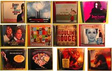 12 CD LOT Soundtracks About a Boy Charlie Brown Moulin Rouge Notting Hill 8 MORE