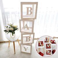 12'' Transparent Boxes Storage Balloons Wedding Kid Birthday Baby Shower Decor
