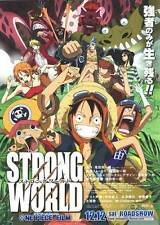 ONE PIECE FILM: STRONG WORLD Movie POSTER 11x17 Japanese B