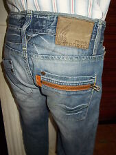 Pantalon jeans FREEMAN T PORTER style CURTIS W32 40FR délavé coupe droite 16TS37