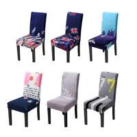 Smartfox housse de chaise élastique coton noir//jaune jusqu/'au siège