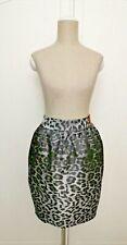 RIVER ISLAND Gorgeous Animal Print Tulip Skirt Pocket Detail BNWT Size 12 #267