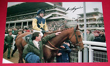 ADRIAN MAGUIRE COOL GROUND PERSONALLY SIGNED 12X8 PHOTO 1992 CHELTENHAM GOLD CUP