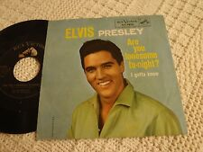ELVIS PRESLEY  ARE YOU LONESOME TO-NIGHT/I GOTTA KNOW RCA 7810